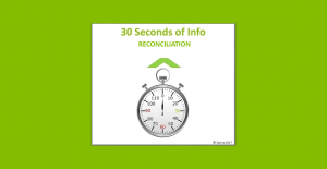 30 Seconds of Reconciliation Info from Ian Glacken – Director of Geology