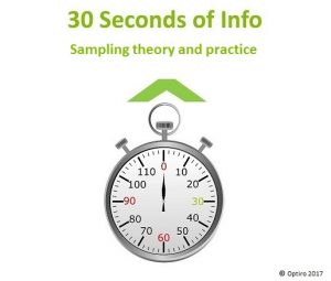 30 Seconds of Info: Sampling theory and practice from Ian Glacken – Director of Geology