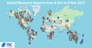 Optiro Summary for the 30 October to 5 Nov 2017 Resource Reporting Intelligence.