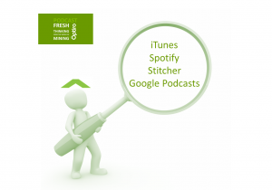 Where to find our Fresh Thinking podcasts – for those in the mining industry