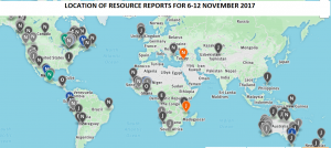 Optiro Summary for 6-12 November 2017 RSC Resource Reporting Intelligence