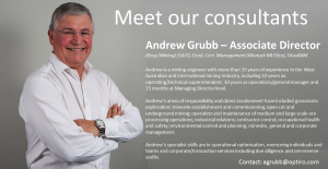 Meet our Consultants: Andrew Grubb – Associate Director