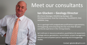 Meet our Consultants: Ian Glacken – Director of Geology