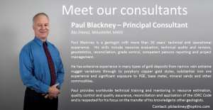 Meet our Consultants: Paul Blackney – Principal Consultant