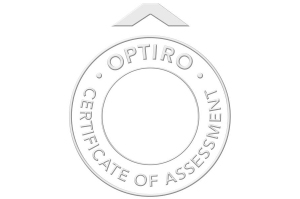 Optiro Certificate of Assessment