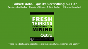 PODCAST: QAQC – quality is everything!