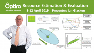 Resource Estimation and Evaluation course