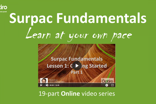 Self-paced Surpac Fundamentals 19-part video series