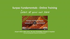 Online training – Surpac Fundamentals.