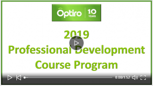 Professional Development Course Program for 2019