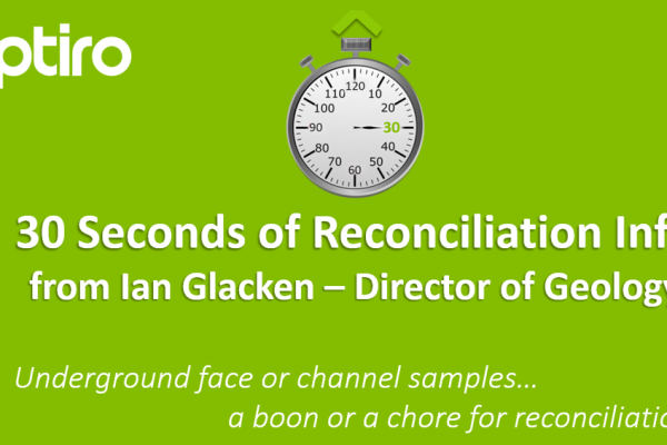 30 Seconds of Reconciliation Info… well actually more like a full minute!