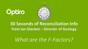 What are the F-Factors? 30+ Seconds of Reconciliation Info